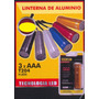 Linterna Mini 3 Elementos Aluminio