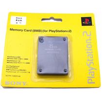 Memory Card Original Scph-10020 8mb Para Playstation 2 A7693