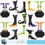 Kit Imprimible Zapato De Bruja 1 Imagenes Clipart