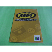 Manual Rr64 Ridge Racer 64 Original Nintendo 64 N64