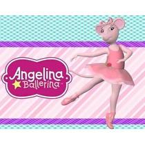 Kit Imprimible Angelina Ballerina Recuerdos, Diseñá Tarjetas