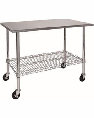 Mesa de trabajo acero inoxidable 453 kg de capacidad 3 en mercado libre - Mesa de trabajo acero inoxidable ...
