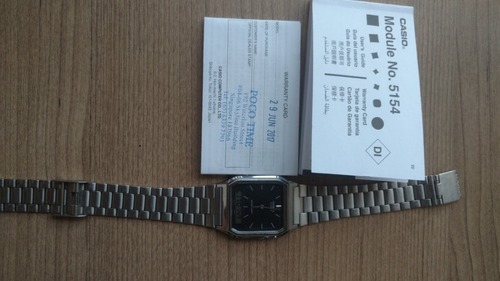 0fb541c81af Relógio Casio Aq-230a Prata Original - R  120