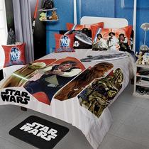 Star Wars Edredon Cojin Colcha Ninos 9pc Darth Matrimonial C