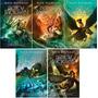 Percy Jackson 5 Volumes - Novas Capas - 2014 - Rick Riordan