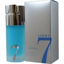 Loewe 7 Natural 100 Ml, Eau De Toilette Spray, 100% Original