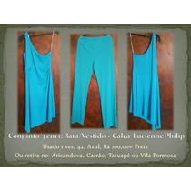 Conjunto 3 Em 1: Bata/vestido + Calça Lucienne Philip