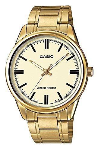 0cc27e8ef5a9 Reloj Casio  mtp-v005g-9a Análogo Estándar Dorado P hombre ...