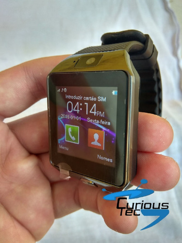 87593c26418 Relogio Celular Com Camera