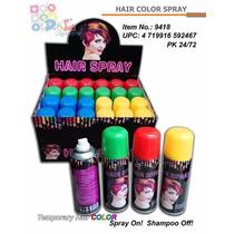 Hair Spray Aerosol Temporal Para Teñir El Pelo Color Dde $1