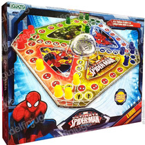 Ludo Matic Spiderman Juego De Ludo Original Marvel