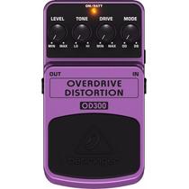 Pedal Para Guitarra Behringer Overdrive Distortion Od300