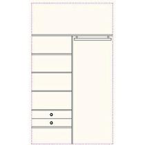 Interior De Placard De 200 Cm X 260 Cm $ 3600.-