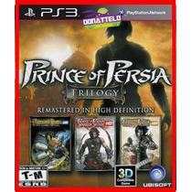 Prince Of Persia Hd Trilogia Trilogy Psn Ps3 Play3 Original