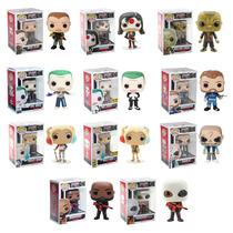 Funko Set 11 Pop Suicide Squad Dc Comics Joker Harley Quinn