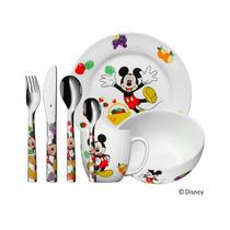 Jgo. Servicio Niños Mickey Mouse 7 Piezas Cocina Design Wmf