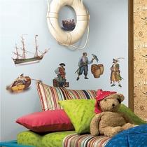 Adesivo De Parede Piratas (roommates) - York Rmk1041scs