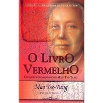 Livro O Livro Vermelho Mao Tse Tung
