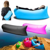 Sillon Colchon Cama Inflable Lamzac Puff Camping Playa