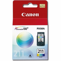 Cartuchos Canon 210 Black & 211 Xl Color -originales