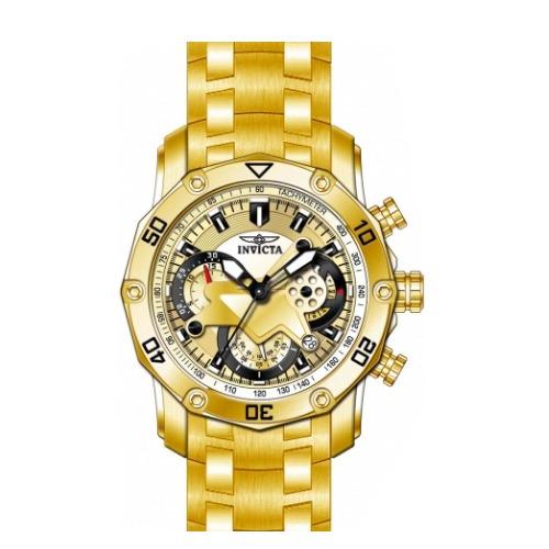 aaa9646714e Lançamento Relógio Invicta Pro Diver 22761 Banhado Ouro 18k - R  699 ...