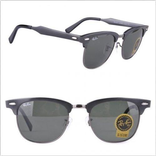 531e05f8cbca7 Óculos Ray Ban Clubmaster Aluminium 3507 Preto 50%off - R  149,90 em  Mercado Livre