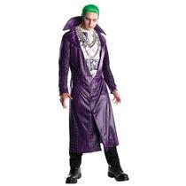 Disfraz Joker Suicide Squad Halloween Adulto Hombre Guason