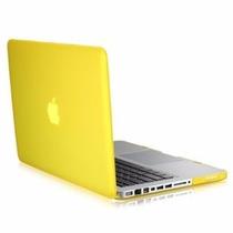 Carcasa Funda Case Protector Macbook Pro 13 Amarilla