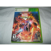 Ultimate Marvel Vs Capcom 3 Xbox 360 Envío Incluido