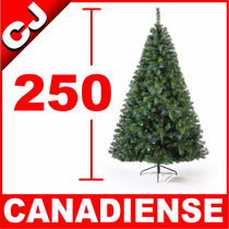 Arbol De Navidad 250 Verde Canadiense Envio Inmediato Pachon