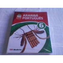 Livro Projeto Araribá Português 6º Ano Vários Autores