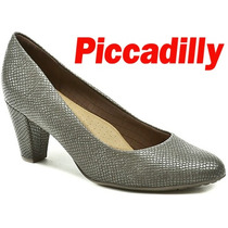 Sapato Piccadilly Super Leve Com Solado De Borracha
