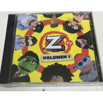 Cd Z Tv Volumen 1 Nuevo Sellado De Fábrica Original