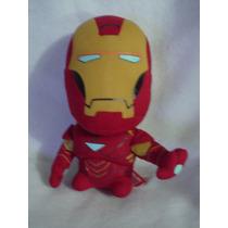 Iron Man Cabezon Original De 20cms De Alto Nuevo