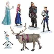 Set 6 Figuras Disney Frozen Envio Gratis