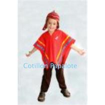 Disfraz Coya Nene Coya Fiesta Patria Acto Escolar Vendedor