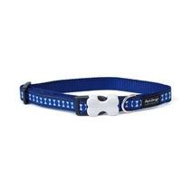 Collar Collar Red Dingo Perro Reflexivo De La Seguridad, Gr