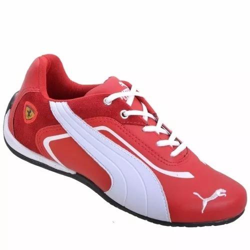 99a36d0800b Puma Ferrari Tenis Feminino Tênis Rosa 50 - R  98