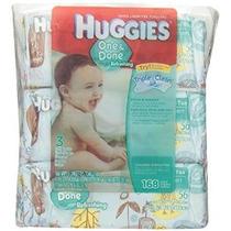Huggies One & Paquete Hecho Bebé Toallitas Soft Pepino Y Té