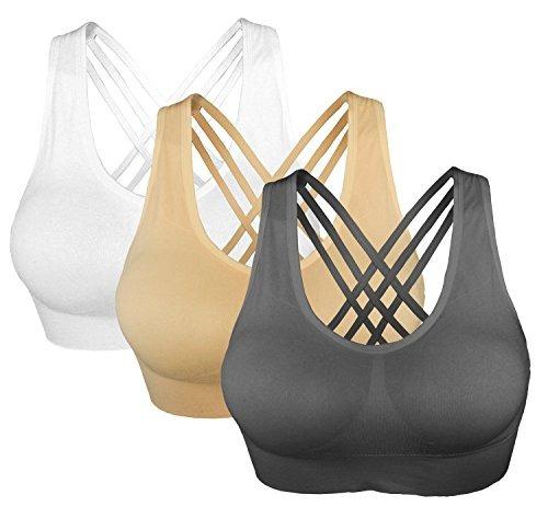 88e18e4874c6a Set De 3 Brasieres Para Mujer Cabales Talla Xxx-large -   132.550 en ...
