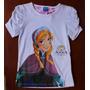 Frozen Camiseta Blusinha T-shirt Princesa Anna T6, T8 E T10