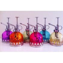 Porta Perfume Spray Decorativo Colorido Estilo Marroquino!