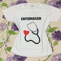 T-shirt Camiseta Personalizada - Enfermagem