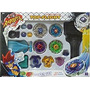Juguete Beyblade Metal Fusion Masters Lucha Launcher R W146