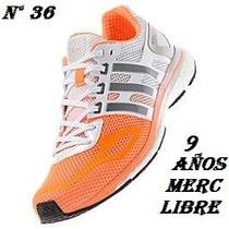 Zapas Adidas N° 36 Ultima Boost Exc Reputacion. 9 Años M L
