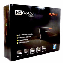 Capturadora De Video Mygica Hd Cap U800 Hdmi Compuesto 1080p