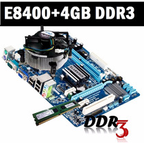 Kit Ipm41 775 E7500 + Placa Mãe + Cooler + 4gb Ddr3