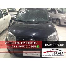 Uno Vivace Com Zero De Entrada 2015 - Auto Braga