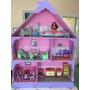 Casita De Muñecas Barbie, Con Muñeca Y Regalos!!!!