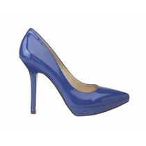 Nine West Zapatos Talla 7 Color Azulino